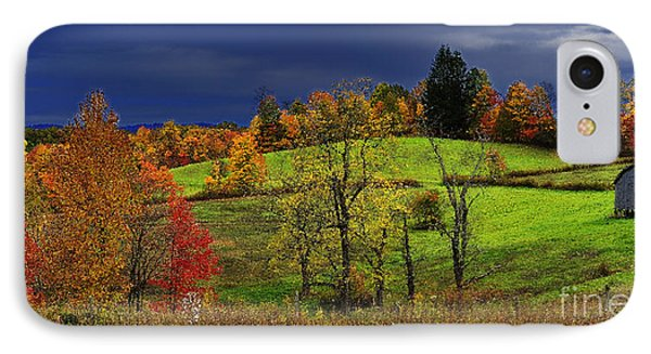 Stormy Autumn Morning Phone Case by Thomas R Fletcher