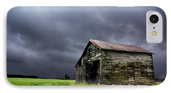 Stormy Barn IPhone Case by Cale Best