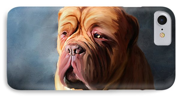Stormy Dogue Phone Case by Michelle Wrighton