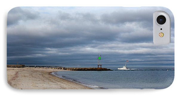 Stormy Evening Bass River Jetty Cape Cod IPhone Case