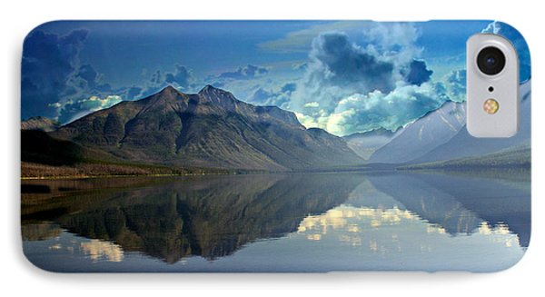 Stormy Lake Phone Case by Marty Koch