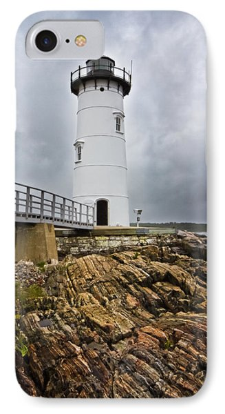 Stormy Lighthouse Phone Case by Robert Clifford