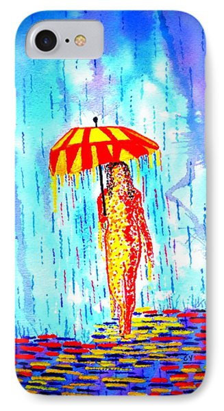Stormy Mood 2 Phone Case by Connie Valasco