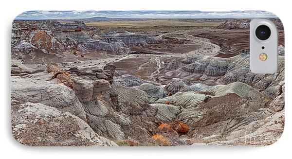Stormy Morning At Petrified Forest  IPhone Case