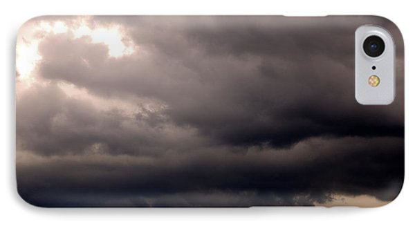 Stormy Sky Over Pasture Phone Case by Thomas R Fletcher
