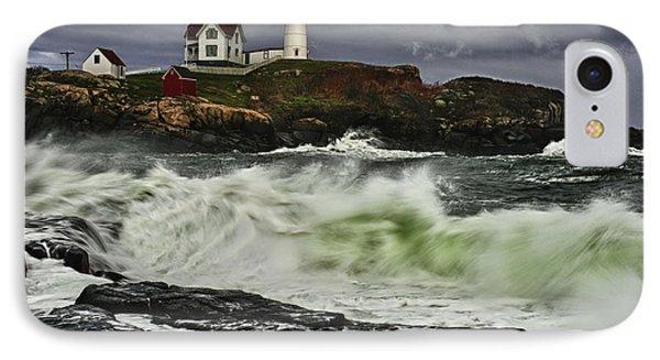 Stormy Tide IPhone Case by Rick Berk