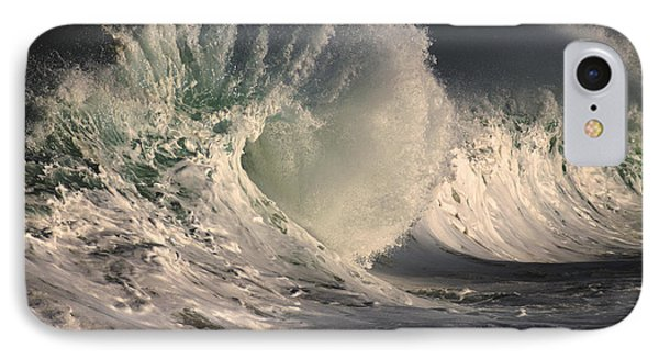 Stormy Wave Crash IPhone Case by Vince Cavataio