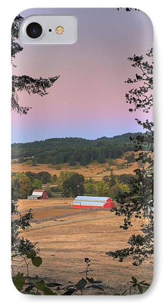 Storybook Farm IPhone Case by Tyra  OBryant
