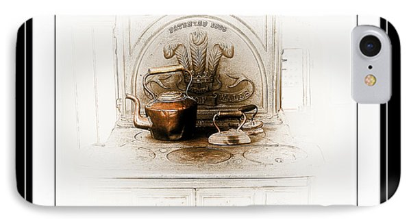 Stove Patent 1885 Phone Case by Elaine Manley