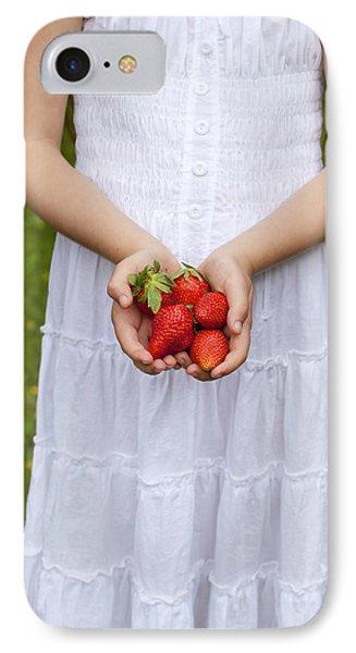Strawberries Phone Case by Joana Kruse