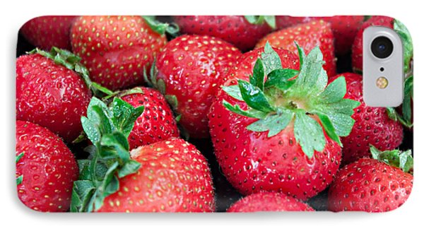 Strawberry Delight IPhone Case by Sherry Hallemeier