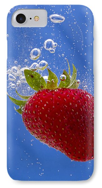 Strawberry Soda Dunk 3 Phone Case by John Brueske