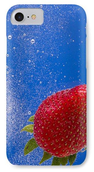 Strawberry Soda Dunk 4 Phone Case by John Brueske