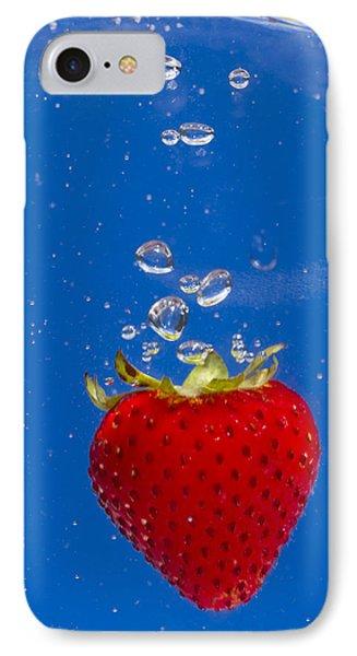 Strawberry Soda Dunk 6 Phone Case by John Brueske