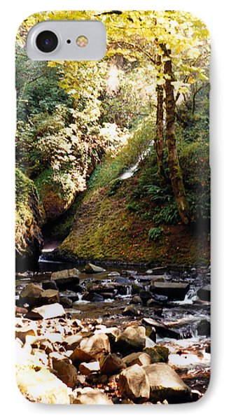 IPhone Case featuring the photograph Stream Bed Oregon by Maureen E Ritter