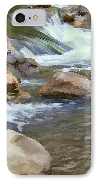 IPhone Case featuring the photograph Stream by John Crothers