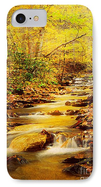 Streams Of Gold Phone Case by Darren Fisher