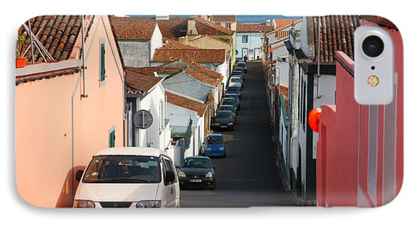 Street In Lagoa - Azores Phone Case by Gaspar Avila