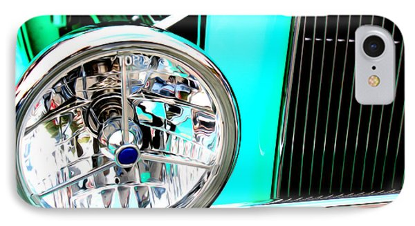 IPhone Case featuring the digital art Street Rod Beauty by Tony Cooper