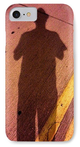 Street Shadows 001 IPhone Case by Lon Casler Bixby