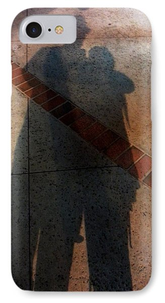 Street Shadows 002 IPhone Case by Lon Casler Bixby