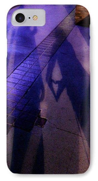 Street Shadows 004 IPhone Case by Lon Casler Bixby