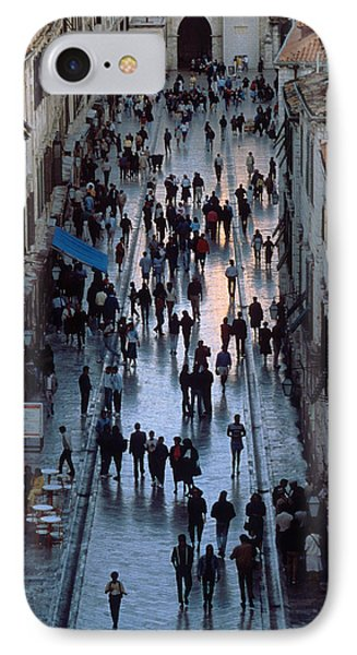 Streets Of Dubrovnik Phone Case by Carl Purcell