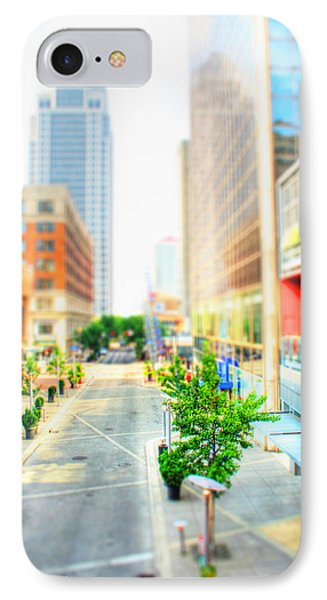 Street's Of Louisville IPhone Case by Darren Fisher