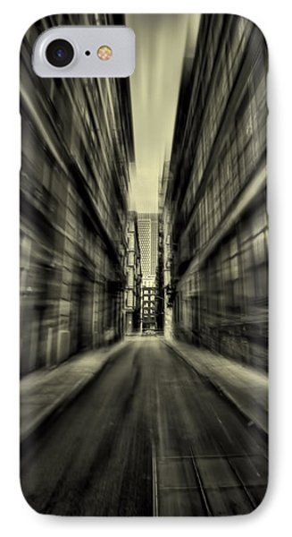 Streets Of Madness IPhone Case by Evelina Kremsdorf
