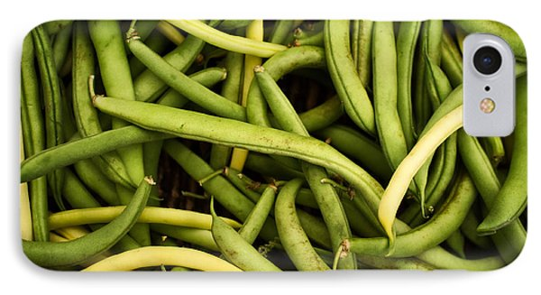 String Beans Phone Case by Tanya Harrison