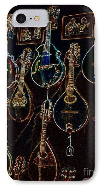String Sounds IPhone Case by David Bearden