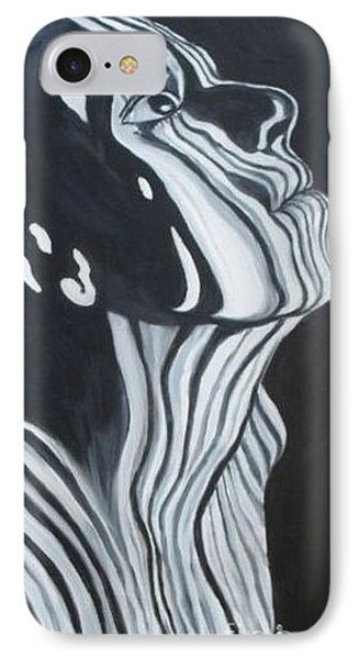 IPhone Case featuring the painting Stripes by Julie Brugh Riffey