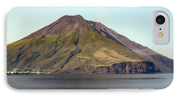 Stromboli Volcano, Aeolian Islands Phone Case by Richard Roscoe