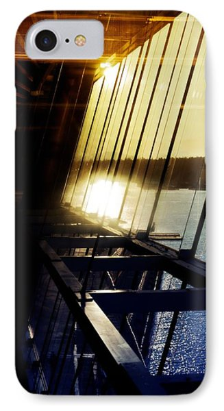 IPhone Case featuring the photograph Structural Vision by JM Photography