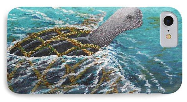 Struggle -leatherback Sea Turtle IPhone Case