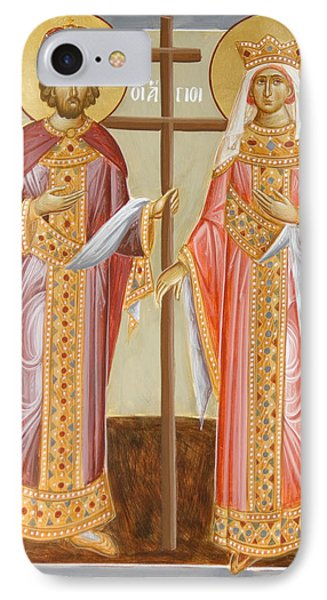 Sts Constantine And Helen IPhone Case
