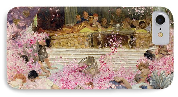 Study For The Roses Of Heliogabulus IPhone Case by Sir Lawrence Alma-Tadema