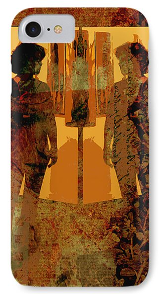 Study In Yellow Phone Case by Ann Powell