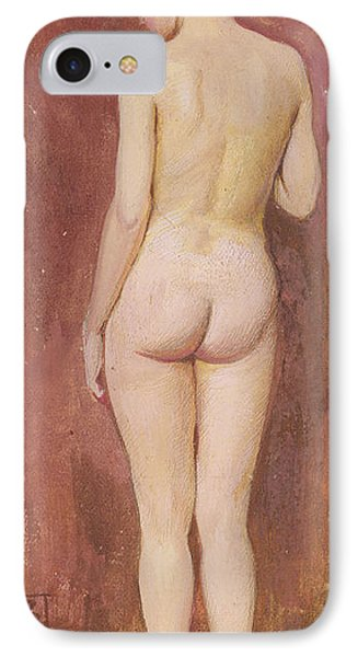Study Of A Nude Phone Case by Murray Bladon