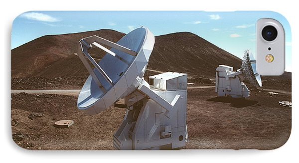 Submillimetre Array Telescopes IPhone Case by Magrath Photography