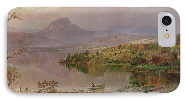 Sugarloaf From Wickham Lake IPhone Case by Jasper Francis Cropsey