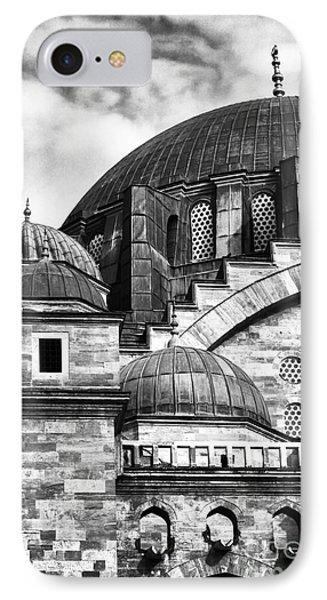 Suleymaniye Domes Phone Case by John Rizzuto