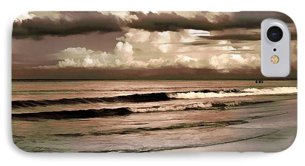 IPhone Case featuring the photograph Summer Afternoon At The Beach by Steven Sparks