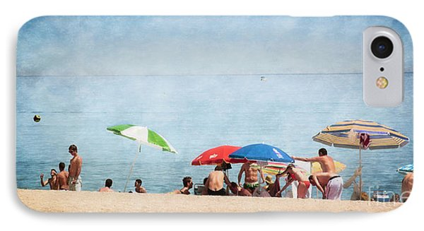 Summer By The Sea Phone Case by Mary Machare