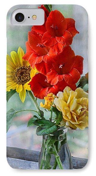 Summer Floral Phone Case by Debbie Portwood