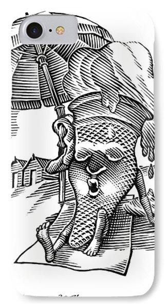 Summer Holidays, Conceptual Artwork Phone Case by Bill Sanderson