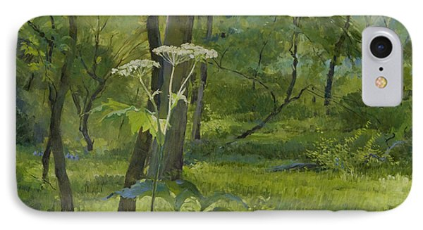 Summer In Fullersburg Woods IPhone Case