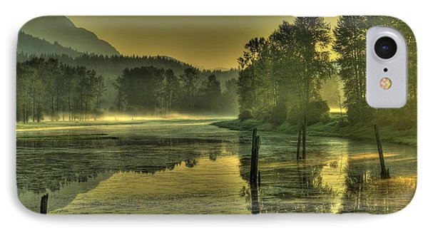 Summer Morning IPhone Case by Rod Wiens