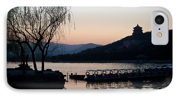 Summer Palace Evening IPhone Case by Mike Reid