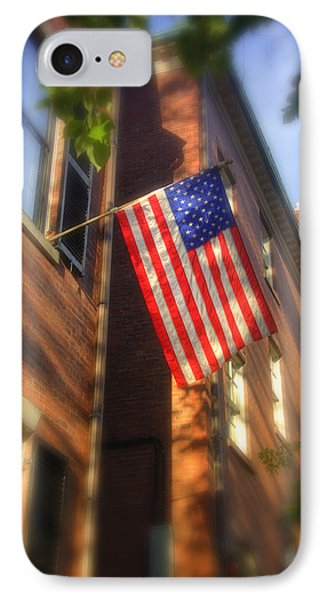 Sun Kissed Flag Phone Case by Joann Vitali